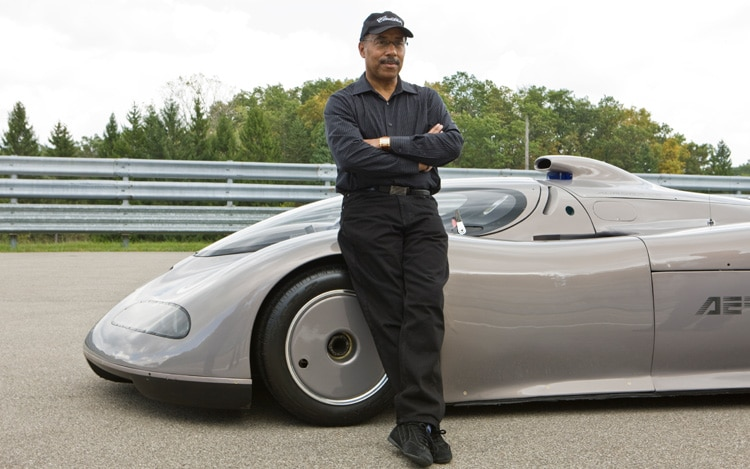 1012 23 Z 1992 Oldsmobile Aerotech Concept Ed Welburn And Aerotech