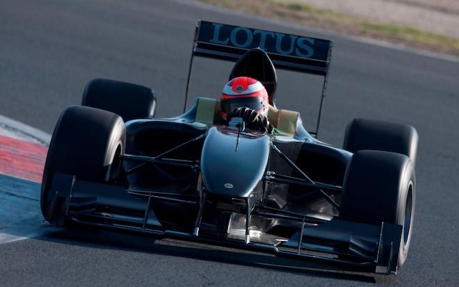 Lotus Type 125 Testing1