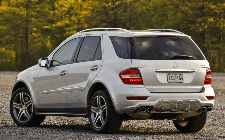 Mercedes Benz Ml63 Amg Alive And Well Through 2011 Model Year Photo