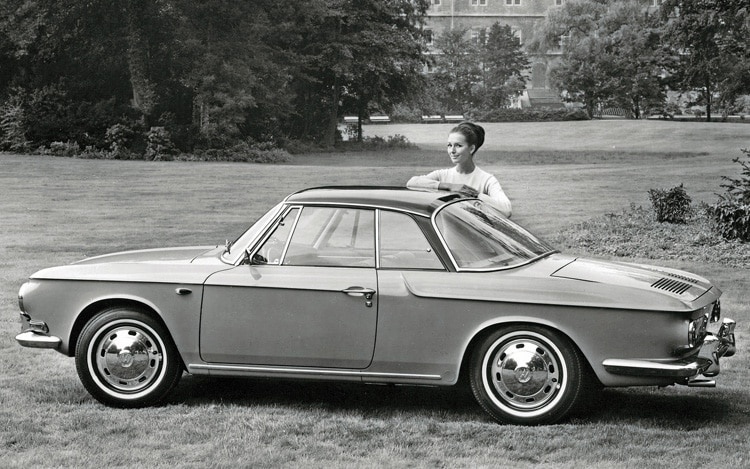1961 Volkswagen Karmann Ghia 1500 Type 34 Side View1