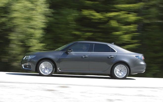 2010 2011 Saab 9 5 Side