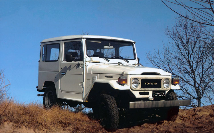 Toyota Land Cruiser Four-Wheels its Way to its 60th Anniversary