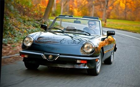Alfa Romeo Spider Promo
