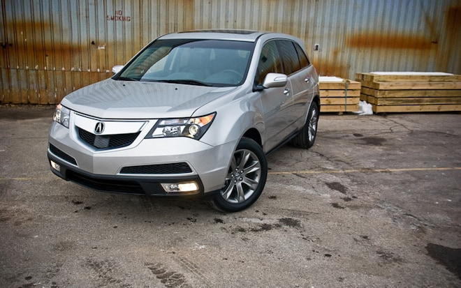 2011 Acura MDX SH AWD Front Three Quarters Static