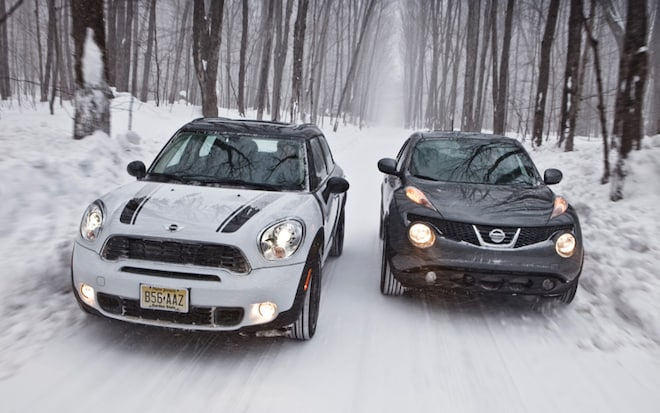2011 Nissan Juke vs  2011 Mini Countryman - Automobile Magazine