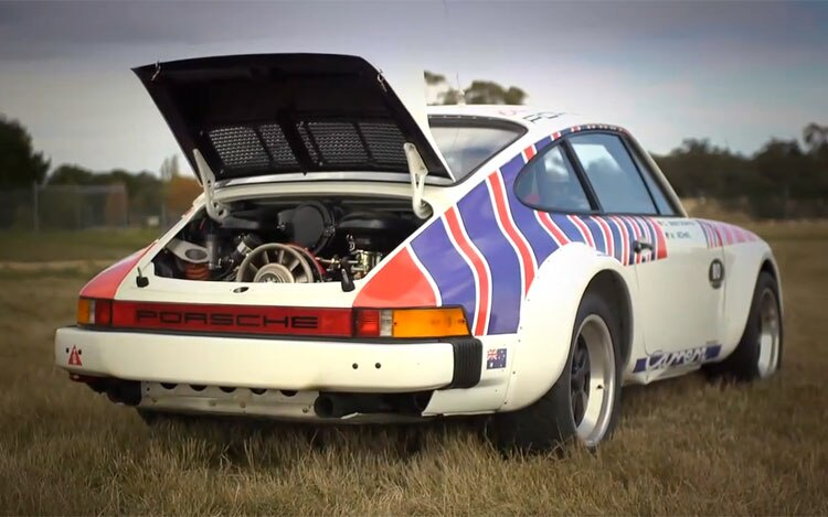 Feature Flick Walter Rohrl Reunited With Porsche 911 Sc Rally Car