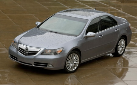 2011 Acura RL Front Three Quarters View Promo