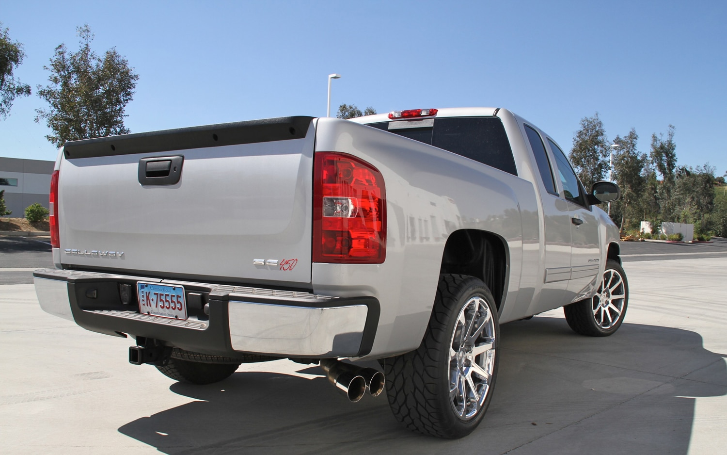 Performance Pickup: 2011 Callaway Silverado Packs up to ...