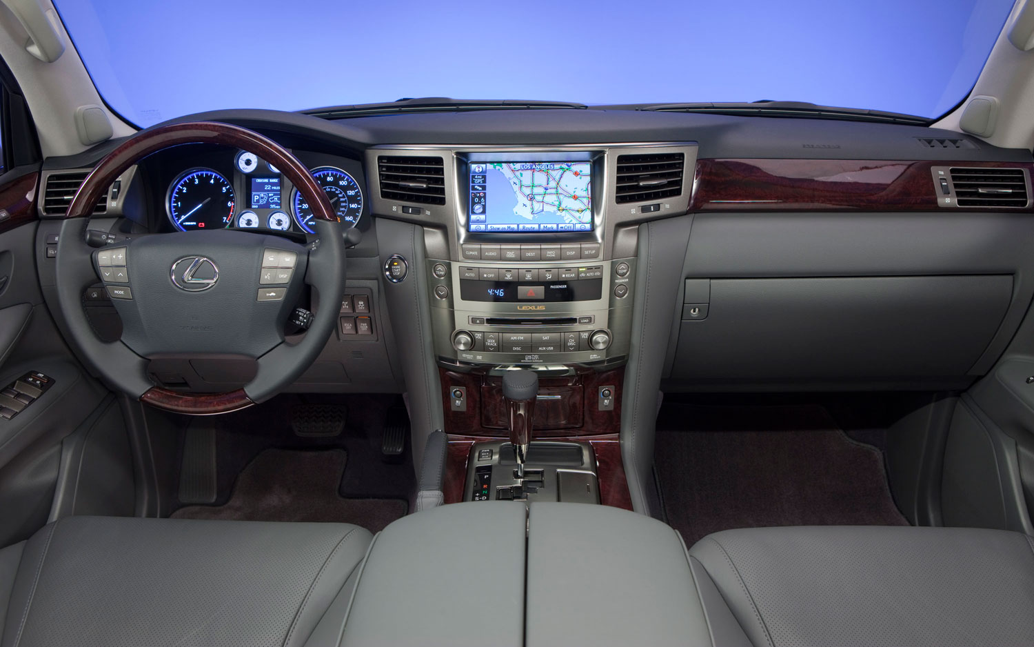 Lovely 2011 Lexus Lx570 Front Interior