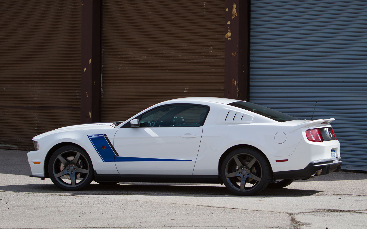Roush Launches 540-Horsepower, 2012 Stage 3 Mustang Package