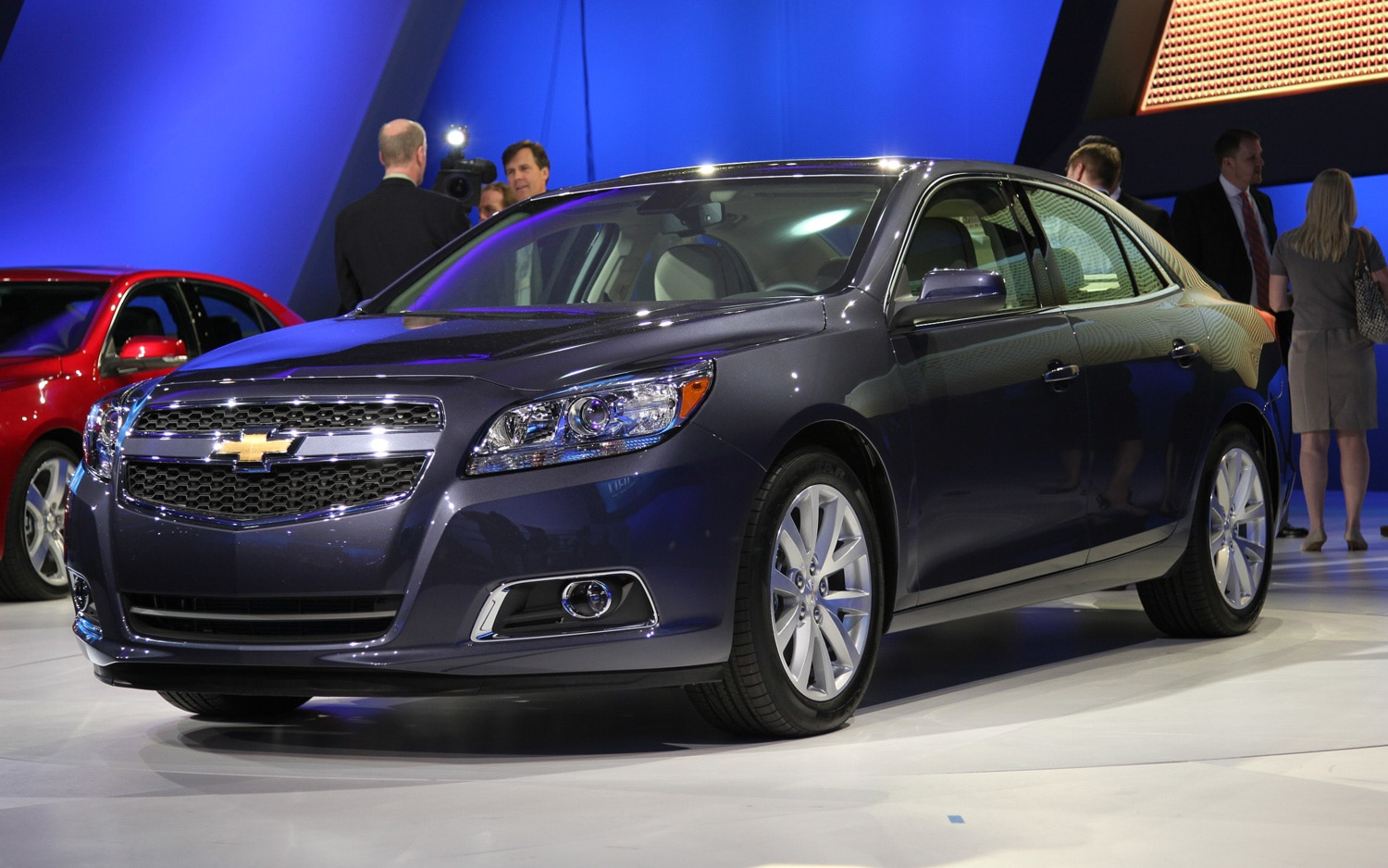Malibu 2013 chevrolet malibu vin : 2013 Chevrolet Malibu Eco - 2011 New York International Auto Show ...