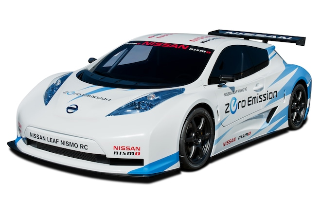Nissan Leaf Nismo RC Front View