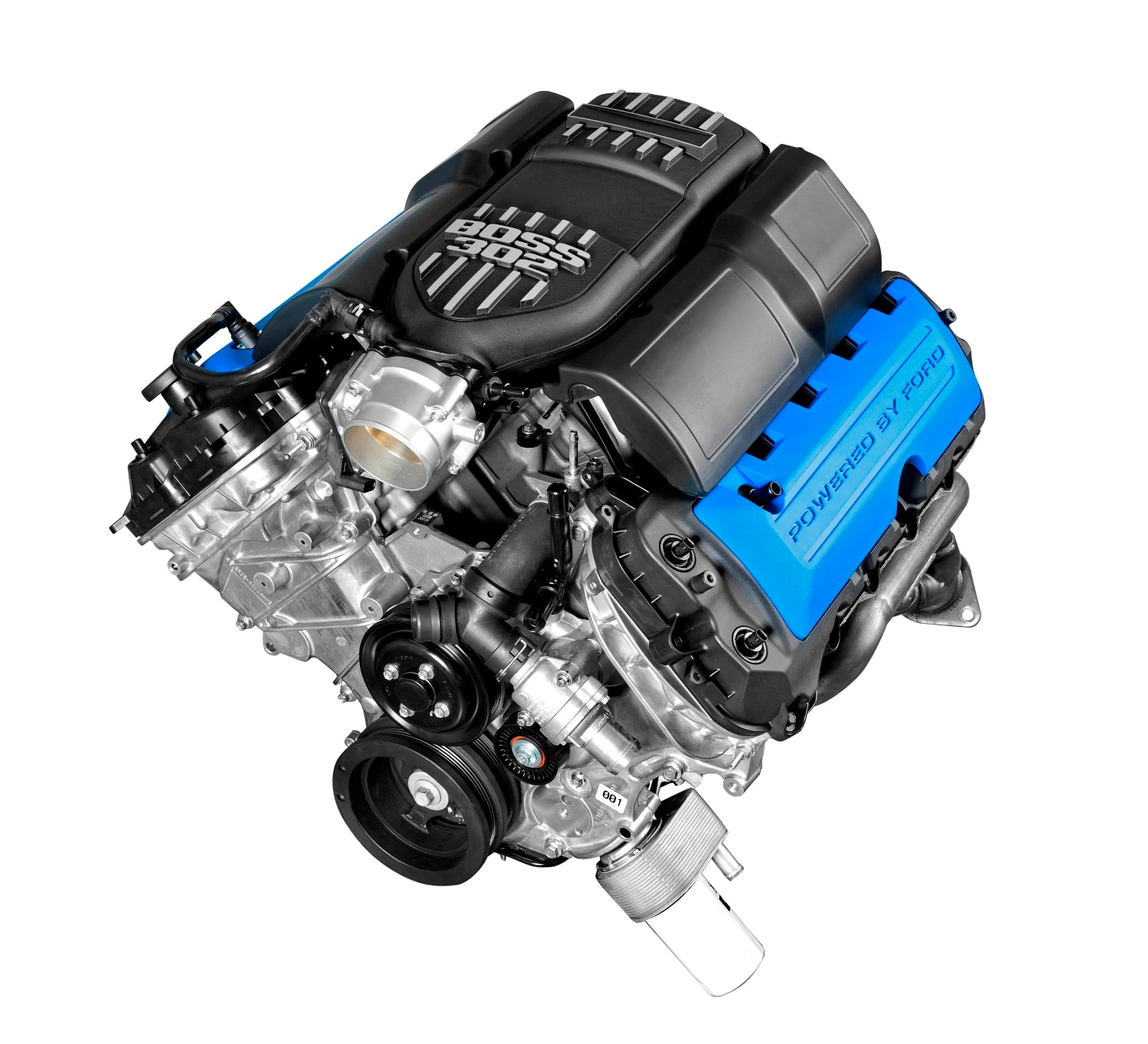Build Your Own Boss? Ford Now Selling 2012 Mustang Boss 302 Crate Engine
