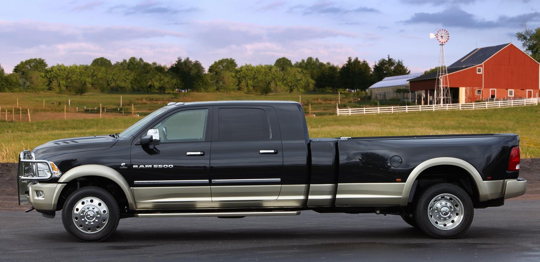 Mega Cab Long Bed >> Beyond Big: Ram Concept Adds Long Bed to Mega Cab