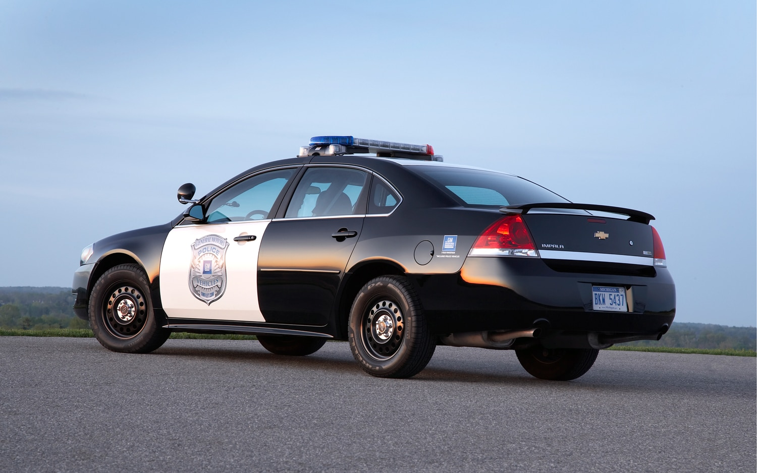 Upgraded 2012 Chevy Impala to Continue Serving as Police Car