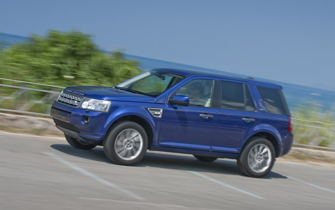 Four-cylinder and diesel engines destined for the Land Rover LR2
