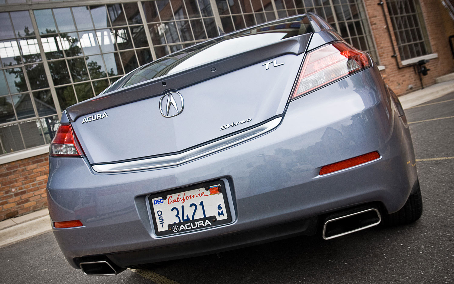 Acura TL SHAWD Tech Editors Notebook Automobile Magazine - Acura tl rear bumper