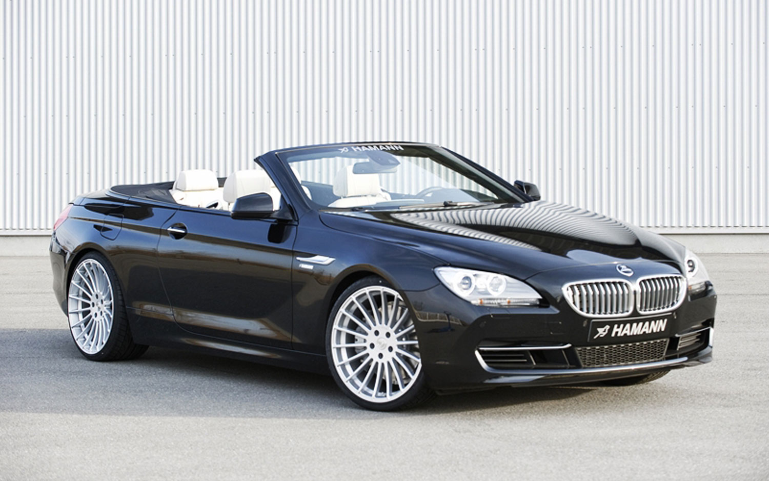 Hamann Tuned BMW 6 Series Convertible Gets Low Gallery