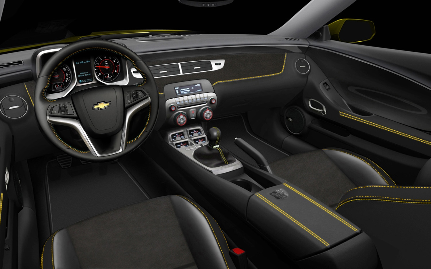 Camaro 2012 chevrolet camaro rs : Bumblebee is Back: Chevrolet Launches New Transformers Edition ...