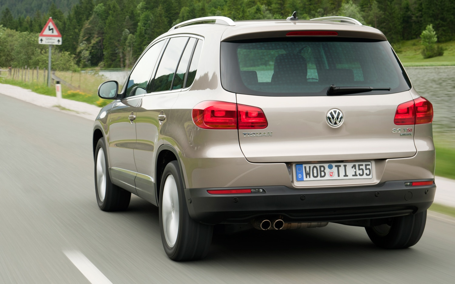 2012 Volkswagen Tiguan First Drive Automobile Magazine