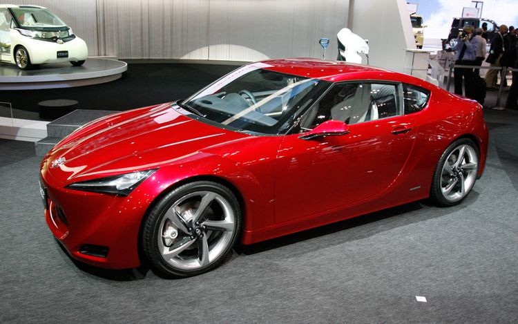Toyota Ft86 Concept Front Three Quarter