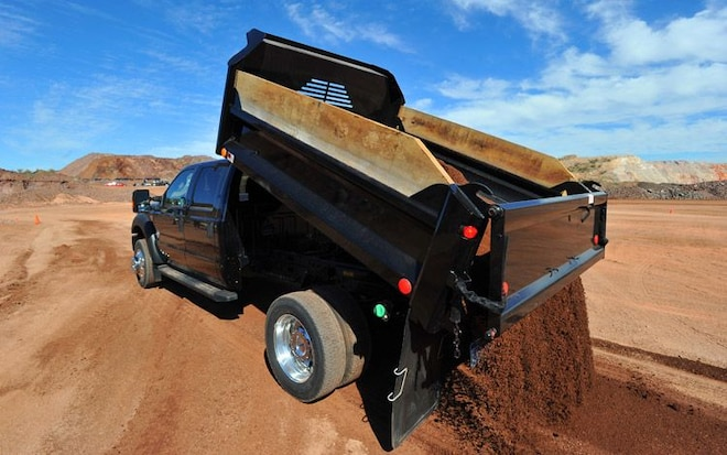 2011 Ford F Series Super Duty Dump Truck1