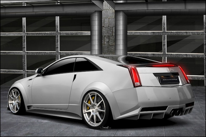 Hennessey Crafts 1000-HP Cadillac CTS-V Coupes for Lucky Few