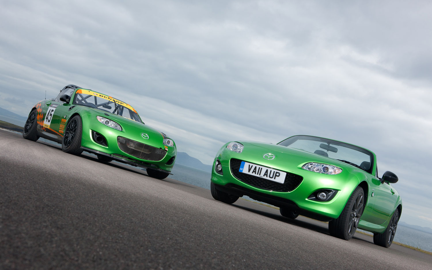 Green Is the New Black: Mazda Miata Racer Inspires Limited Edition Model