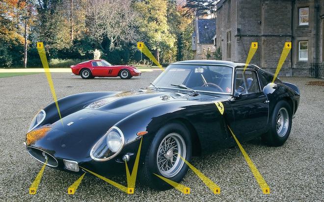 Ferrari 250GTO Ferrarissima Front View3