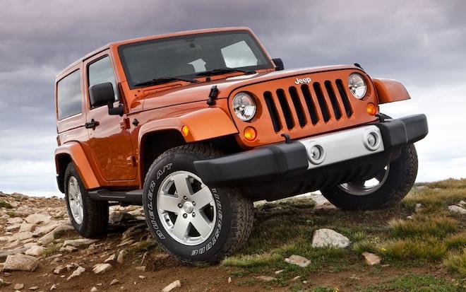 2011 Jeep Wrangler Front1