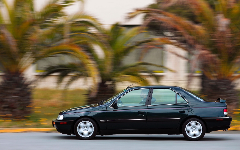 1989 1991 Peugeot 405Mi16 Left Side View