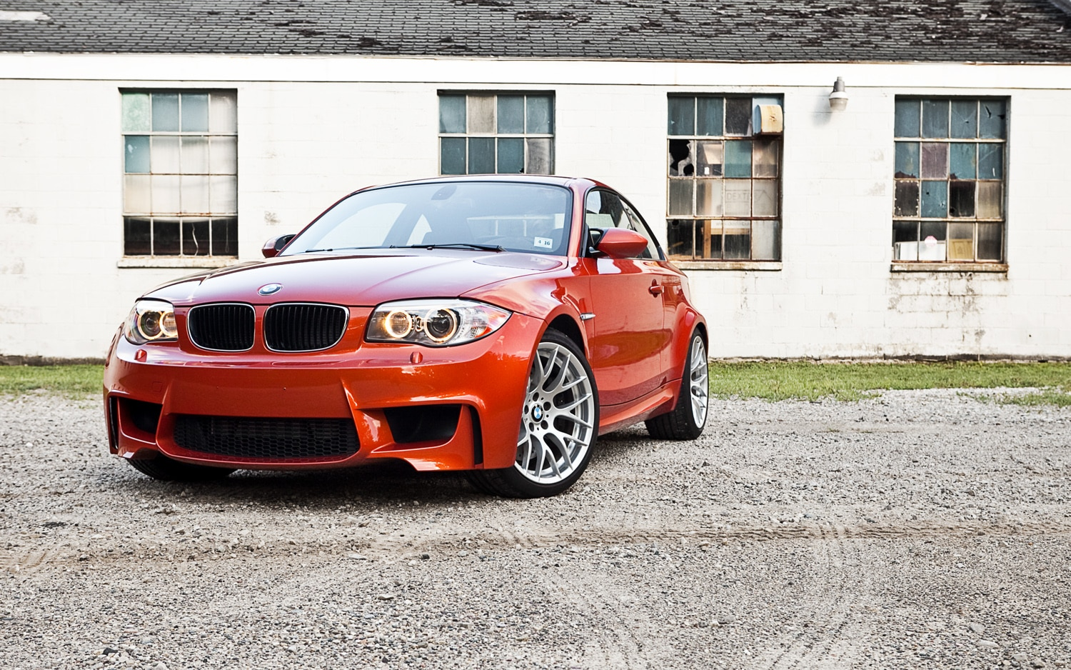 2011 BMW 1 Series M Coupe Front Left View1