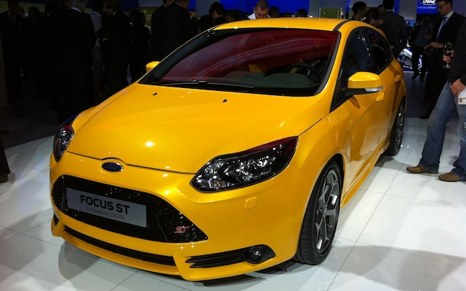 First Look 2012 Ford Focus St Automobile Magazine