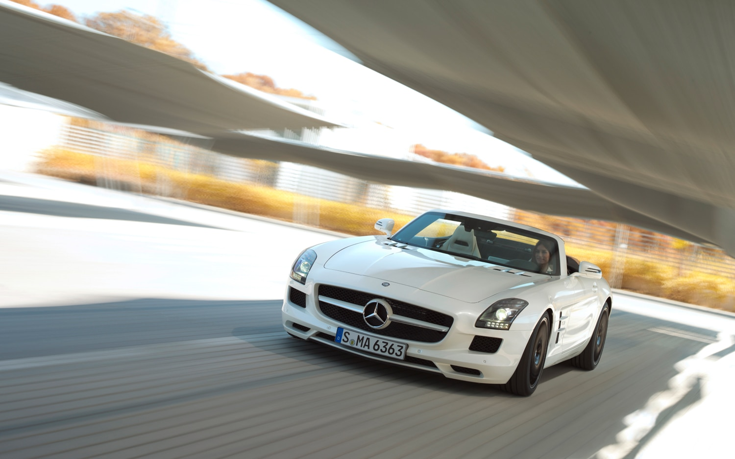First Drive: 2012 Mercedes-Benz SLS AMG Roadster - Automobile Magazine