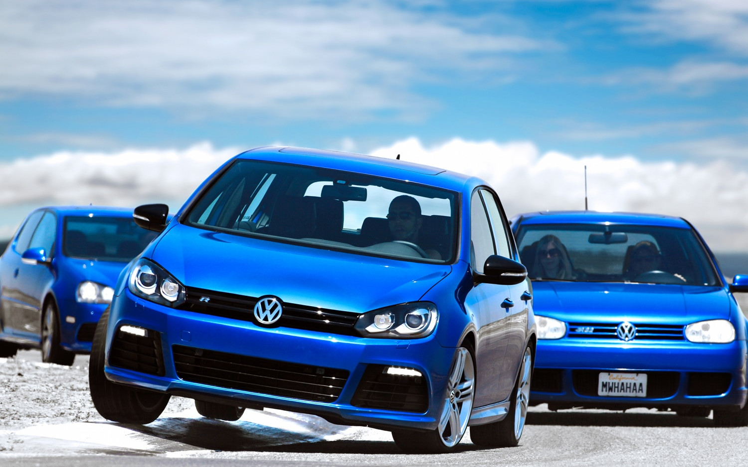 2004 and 2008 Volkswagen R32 and 2013 Volkswagen Golf-R - Automobile Magazine