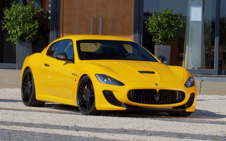 Seeing Red Novitec Tunes The Maserati Granturismo Mc Stradale Photo