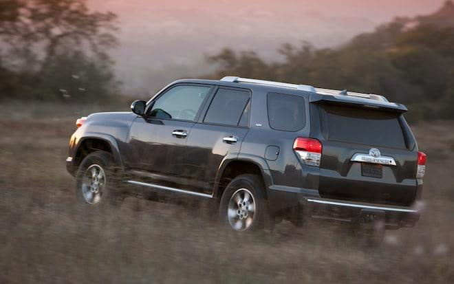 2011 Toyota 4 Runner Rear Three Quarter