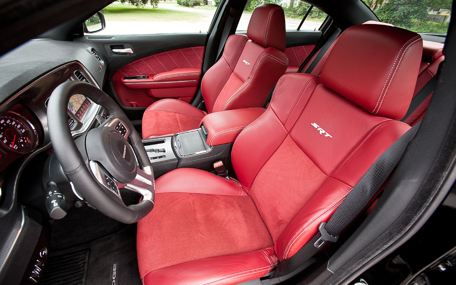 dodge charger red leather interior. Black Bedroom Furniture Sets. Home Design Ideas