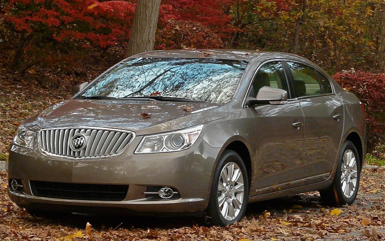 Driven 2012 Buick Lacrosse Eassist Automobile Magazine