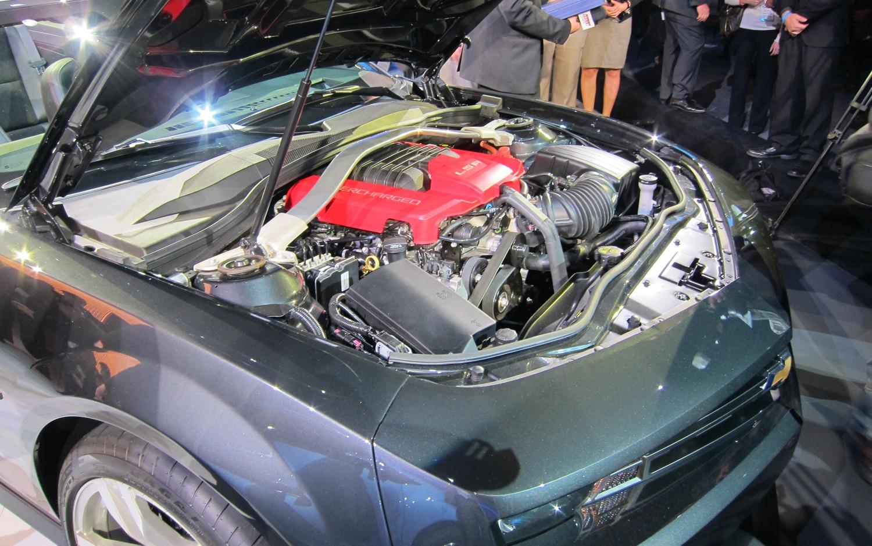 Los Angeles 2011: 2013 Chevrolet Camaro ZL1 Convertible Revealed