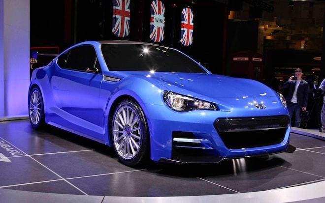 First Look Subaru Brz Sti Concept Automobile Magazine