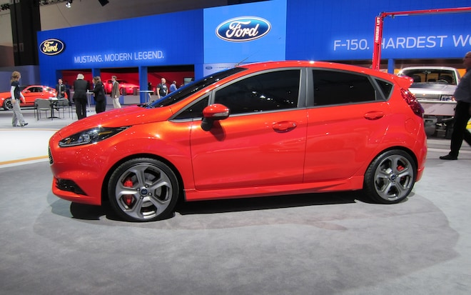 Los Angeles 2011 Ford Continues To Tease Us With The Fiesta St