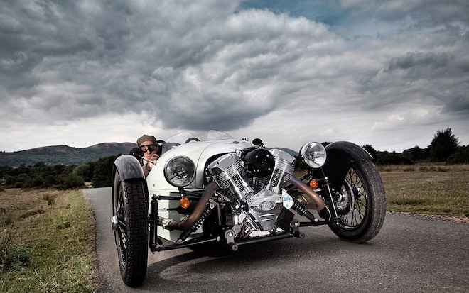 Morgan 3 Wheeler Front View1