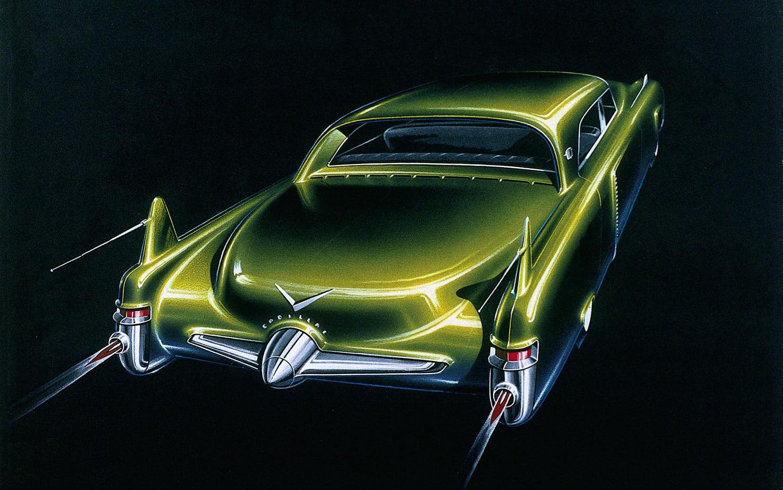 1950 Cadillac Coupe De Sabre Rear View1