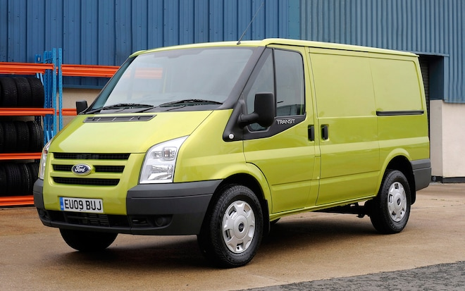 2010 Ford Transit Econetic Front Three Quarter1