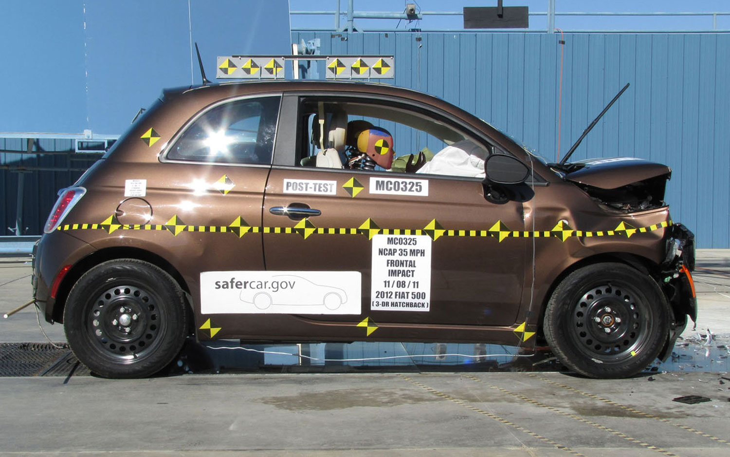 UPDATE: NHTSA Gives 2012 Fiat 500 Three-Star Safety Rating, Contrary