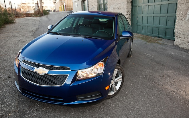 2012 Chevrolet Cruze 2lt Editors Notebook Automobile Magazine