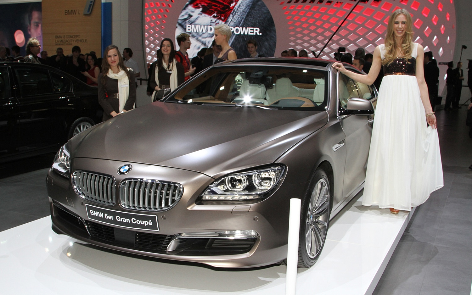 2013 BMW 6 Series Gran Coupe Front End1