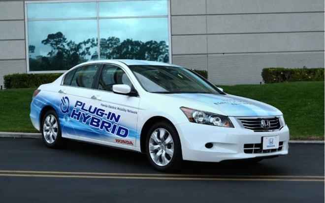 Honda Accord Plug In Hybrid Prototype1