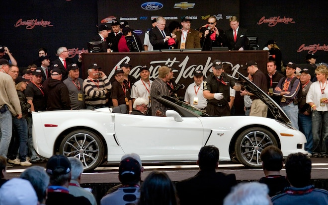First 2013 Chevrolet Corvette 427 Convertible Auctioned For 600000